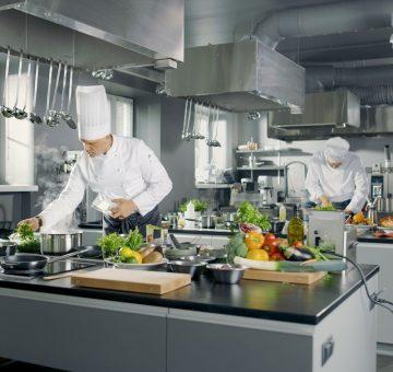 Gastronomie, Großküchen Und Catering